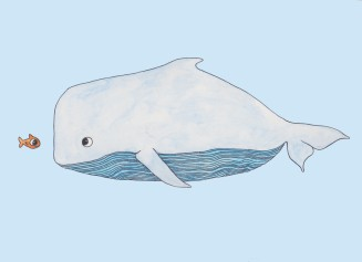 Fish and the whale 001