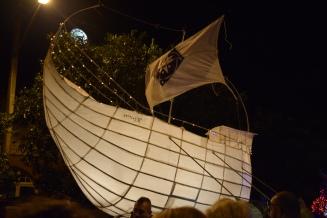 Viking Ship Lantern