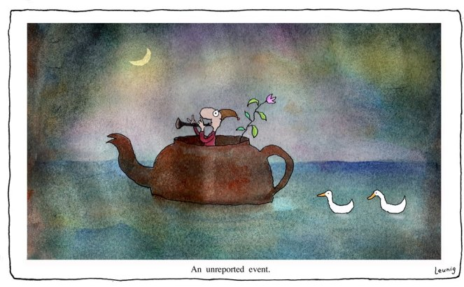 An unreported event Leunig