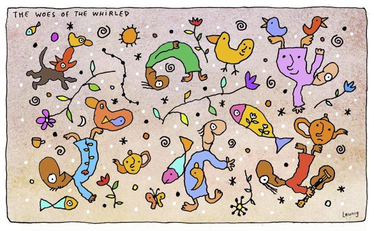 The woes of the whirled Leunig