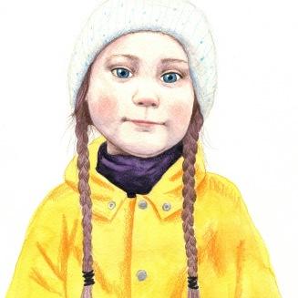 Greta Thunberg cropped